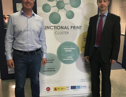 Participamos en el Innovation Workshop organizado por el Cluster Functional Print en Pamplona