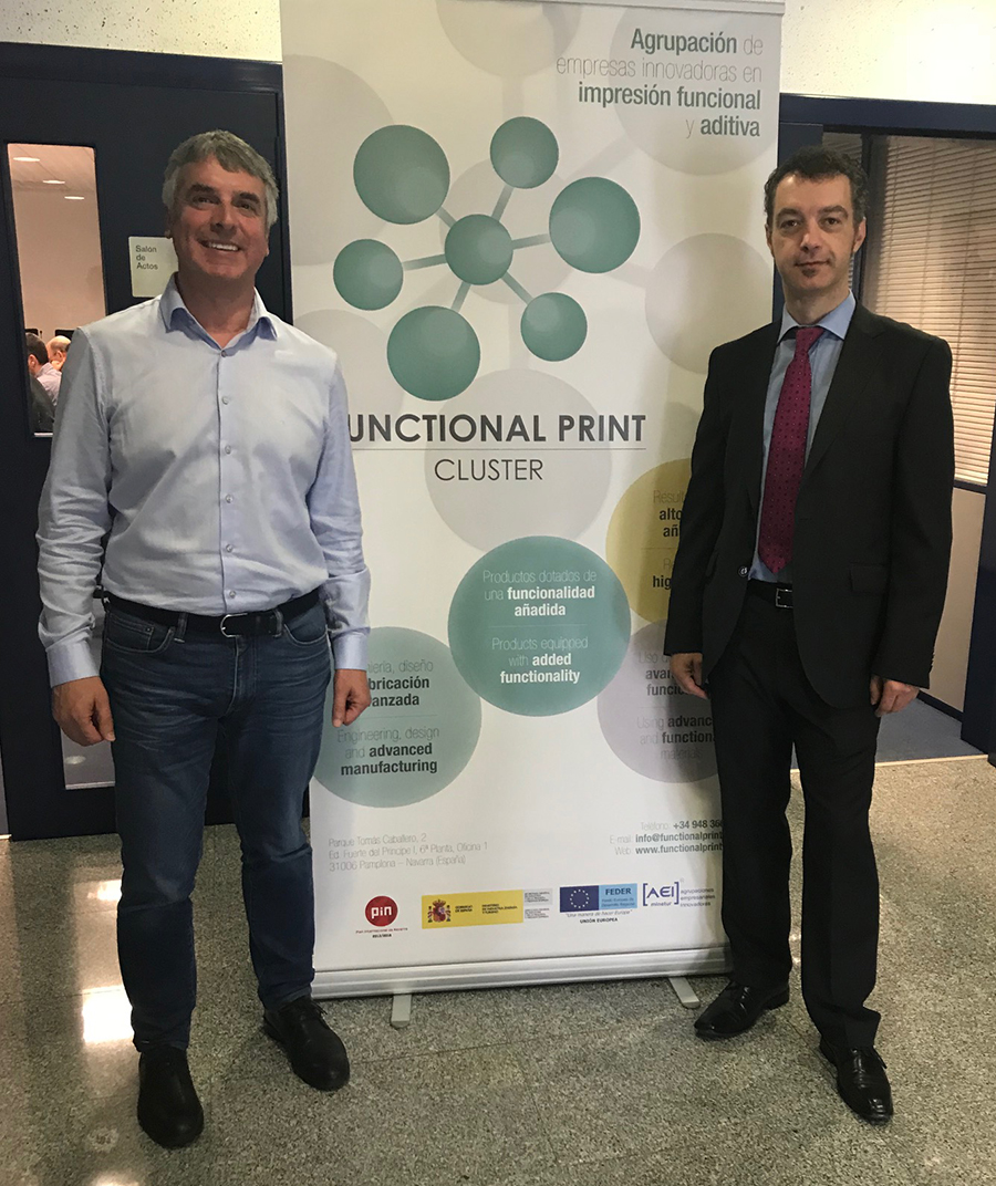 cluster functional print pamplona