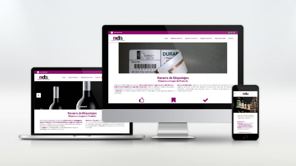 Nueva web Navarra de Etiquetajes