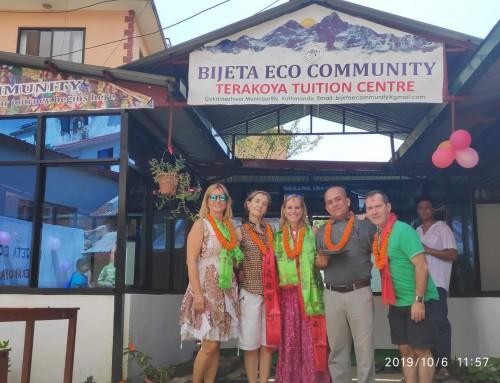 Seguimos colaborando con el proyecto Bijeta Eco Community de Nepal