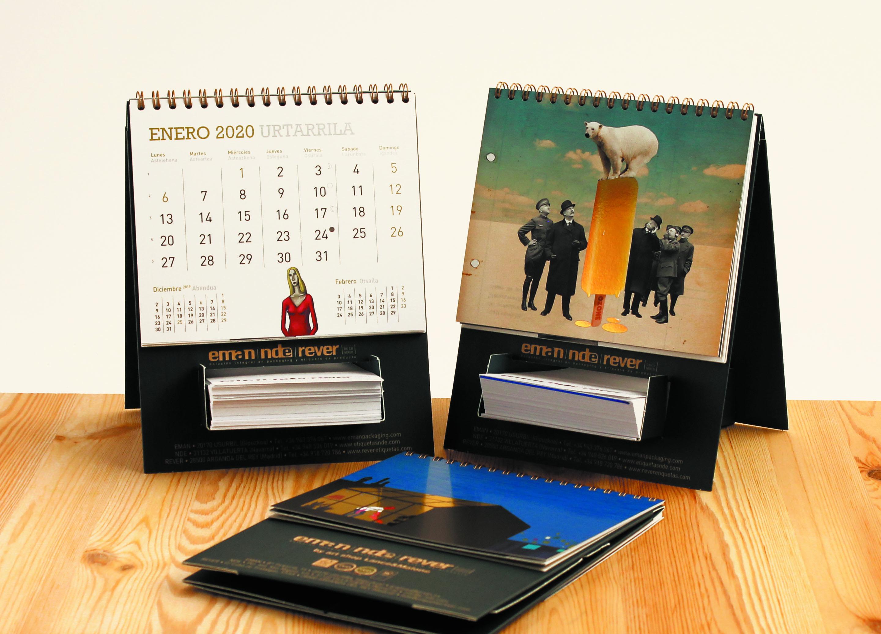 calendarios 2020 Eman Rever NDE