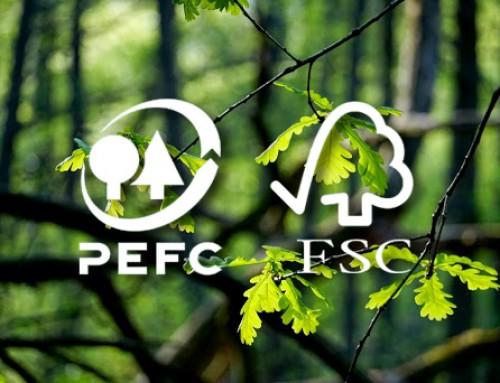 Navarra de Etiquetajes logra los certificados FSC/PEFC