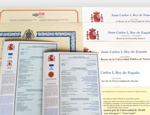 Imprenta Universal ya es proveedora de los títulos académicos de 14 comunidades autónomas